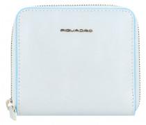 B2 Blue Square Geldbörse RFID Leder