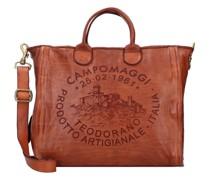 Handtasche Leder 35, cognac