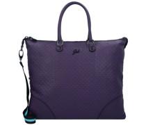 G3 Plus L Handtasche Leder melanzana