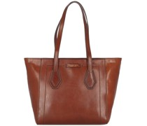 Giovanna Shopper Tasche Leder brown-gold