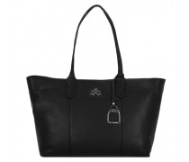 Amelia Shopper Tasche Leder black