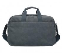 Workbag Aktentasche Leder Laptopfach slate grey