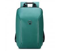 Securain Rucksack RFID Laptopfach tiefes gruen
