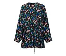 Kleid Mit Splash-Motiv