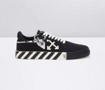 'Vulcanized' Low-Top-Sneakers