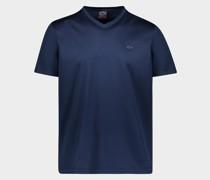 T-Shirt aus Bio-Baumwolle mit metallischem Hai