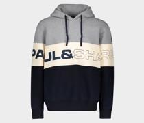 Kapuzensweatshirt Aus Bio-Baumwolle Mit Paul&Shark Print