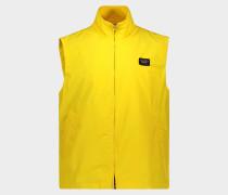 Ärmellose Jacke aus Polyester