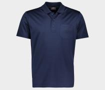 Poloshirt aus Piqué Bio-Baumwolle mit Logo Stickerei