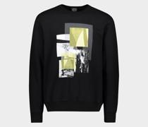 Sweatshirt aus Bio-Baumwolle mit Regatta-Print