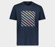 T-Shirt aus Baumwolle mit Logo Print