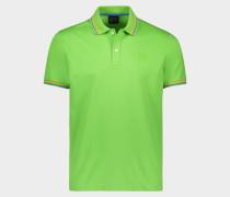 Poloshirt aus Piqué Baumwolle mit Kontrast Rand