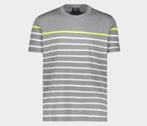 T-Shirt Aus Bio-Baumwolle Mit Ikonischem Badge