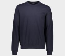 Sweatshirt aus Bio-Baumwolle mit ikonischen Badge
