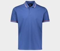 Poloshirt aus Baumwoll-Piqué mit aufgesticktem Paul&Shark-Logo