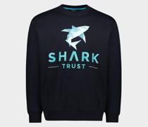 """""""Shark Trust""""-Sweatshirt aus Bio-Baumwolle"""