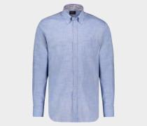 Hemd aus Baumwolle mit Karomuster Kontrast