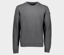 Pullover mit Rundhalsausschnitt aus Ecowool Color of Shetland