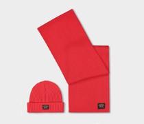 Kit Christmas - Wollmutze Und Schal