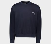 Sweatshirt aus Bio-Baumwolle mit ikonischem Badge