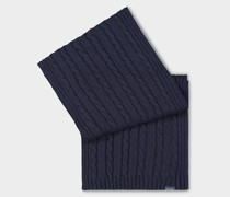 Geflochtener Öko-Kaschmir-Schal