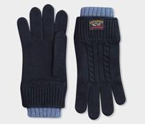 Handschuhe aus geflochtener Wolle