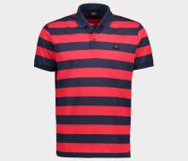 Poloshirt aus Piqué Bio-Baumwolle mit Streifenmuster