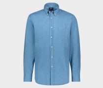 Hemd aus Denin Baumwolle