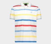 Poloshirt aus Bio-Baumwoll-Piqué mit aufgesticktem Logo