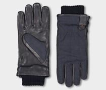 Handschuhe Aus Loro Piana Stoff Und Leder