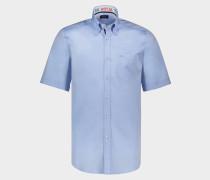 Hemd aus Baumwolle mit einfarbigem Muster Kontrast