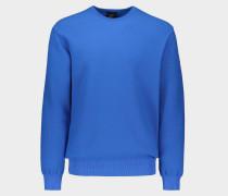 Pullover mit Rundhalsausschnitt aus Wolle