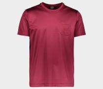 T-Shirt aus Bio-Baumwolle mit Ton in Ton Logo-Stickerei auf der Brusttasche