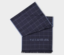 Wollschal Mit Paul&Shark Jacquard