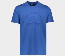 T-Shirt mit Ton in Ton Logo