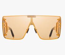 Sonnenbrille Altgold