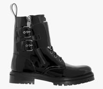 Combat Boots Schwarz