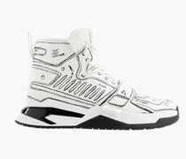 Sneaker Weiß Schwarz