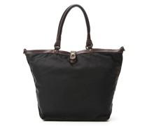 Shopper-Tasche aus Nylon mit langen Henkeln