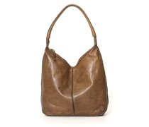 Bag in military Green Leather