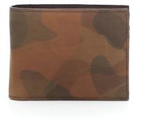 Geldbeutel und Kartenetui Leder camouflage