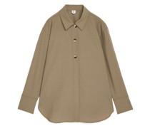 Oversized-Overshirt Aus Wolle