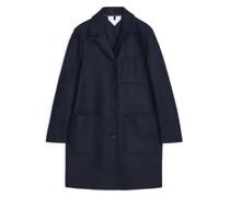 Mantel Aus Woll-Jersey