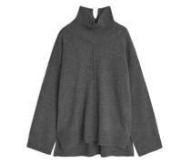 Pullover Aus Recyceltem Kaschmirmix