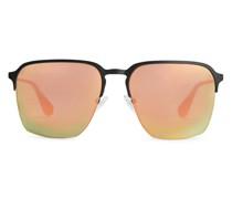 Sonnenbrille Mit Verspiegelten Gläsern
