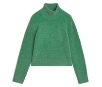Kurzer Pullover Aus Alpaka-Mix