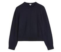 Pullover Aus Gekochter Wolle