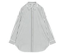 Oversized-Hemd Aus Popeline