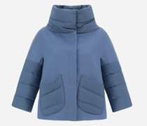 CASHMERE DOWN JACKET WITH NUAGE