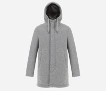 SCUBA WOOL RESORT PARKA WITH INTERNAL ECOFUR